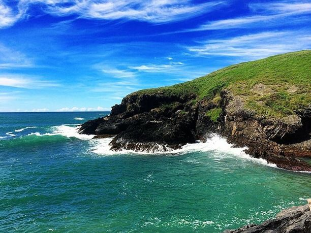 Muttonbird Island Nature Reserve, Coffs Harbour, Australia - The...