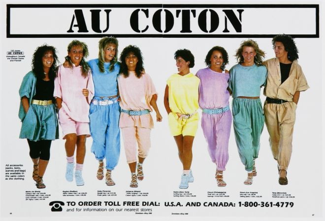 Vintage Clothes/ Fashion Ads of the 1980s 9
