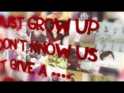Avril Lavigne - Here's To Never Growing Up (Lyric Video). I love it more and more every time I listen to it!! :)