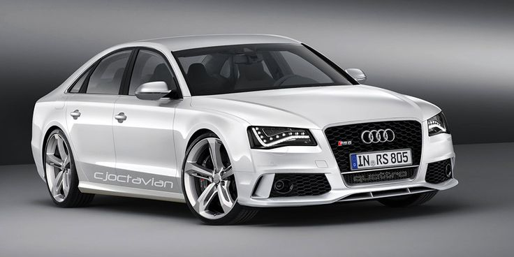 What an Audi RS8 would look like...