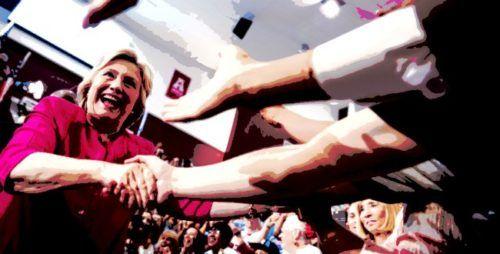 Hilary, la dama rossa e la pacca sulla spalla