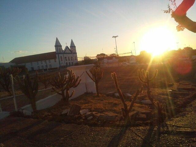 Pôr do sol em São João do Piaui.