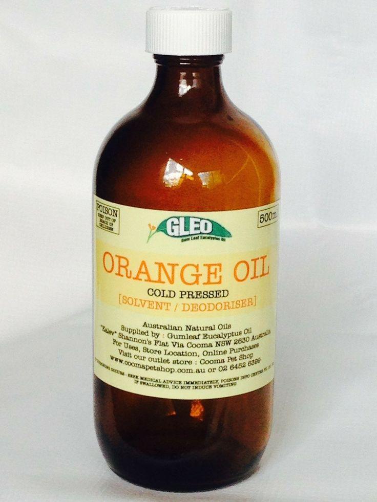 Cooma Pet Shop - GLEO Orange Oil 200ml