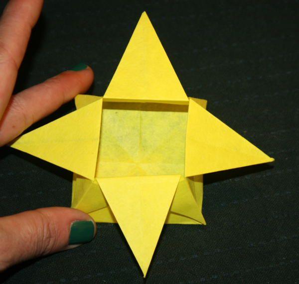 scatola origami senza coperchio90
