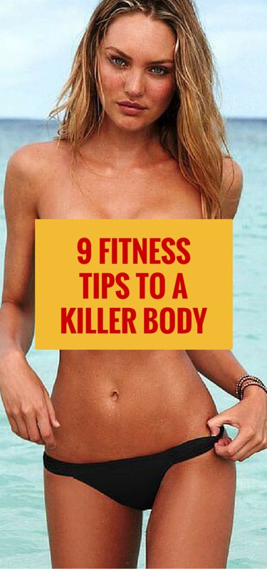 Try these 9 simple fitness tips to help you get the body in time for the summer beach season. #fitness #workout #beach