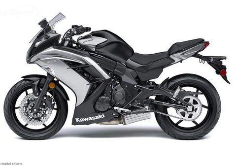 Kawasaki Ninja 650 White