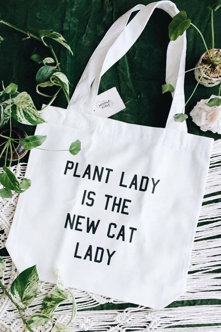 Plant lady is the new cat lady - What more to say other than we just LOVE cool stuff!