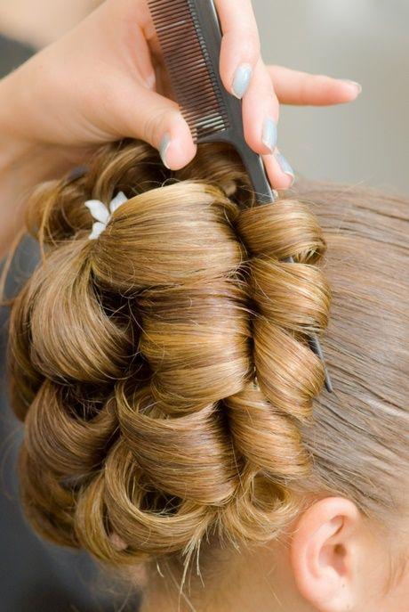 Turkische Frisuren Hochzeit Cabello Pinterest