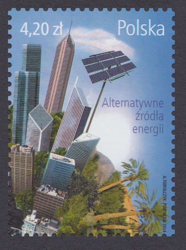 Znaczek nr: 4560 - Alternatywne źródła energii