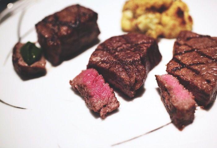 Déguster du Bœuf de Kobe au Peter grill du Peninsula Tokyo