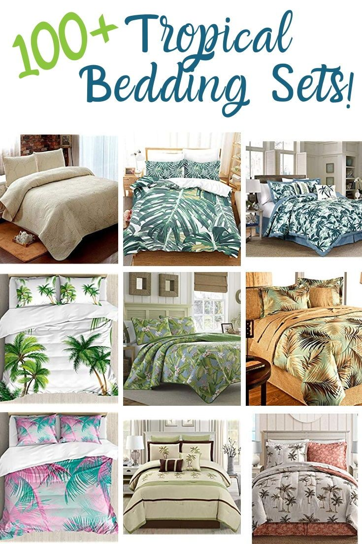 100 Tropical Bedding Sets And Tropical Comforters For 2020 Beachfront Decor In 2020 Tropical Bedding Sets Tropical Bedding Bedding Sets
