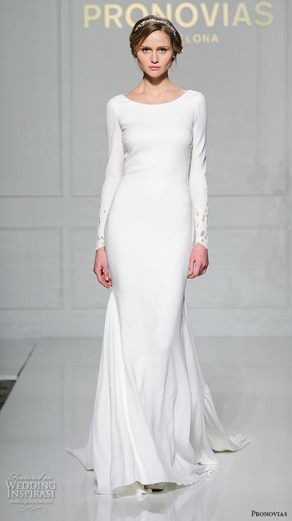 claire pettibone fall 2016 long sleeves illusion v neck sweetheart neckline fully embellished vintage elegant lace sheath wedding dress illusion back sweep train (pearle) zv