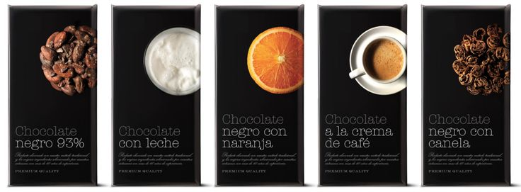 Chocolate packaging by Spanish design studio Puigdemont Roca. It's stylish, elegant and and I like how they used the picture of the product to enhance the flavour.   http://puigdemontroca.com/?portfolio=chocolate-elio-di-luca&lang=en