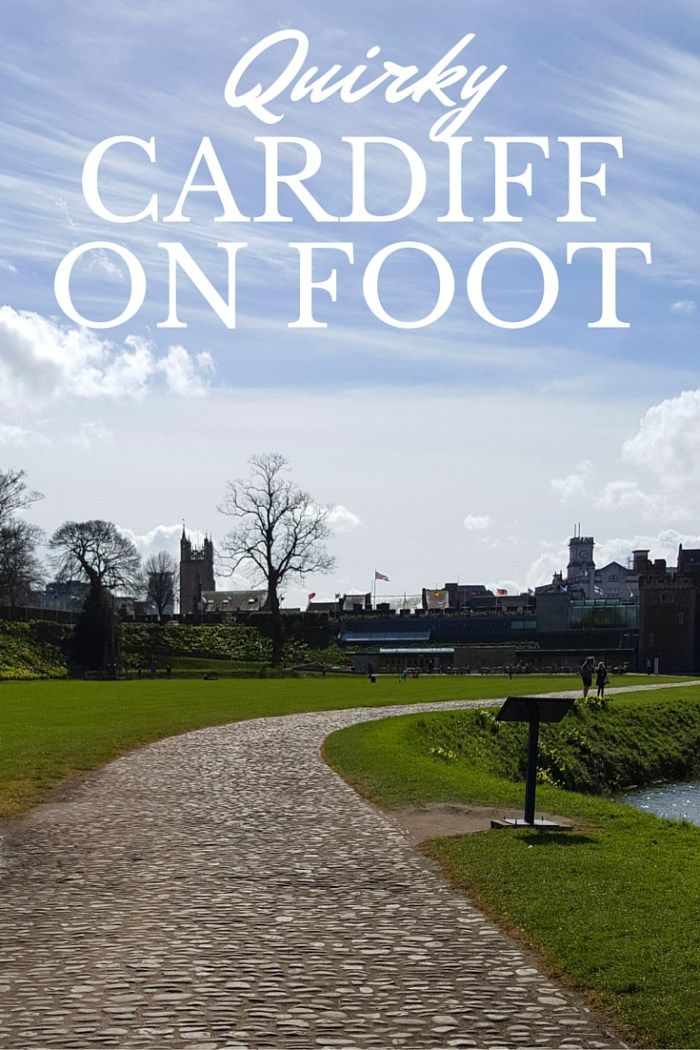 Cardiff walking tours and shopping