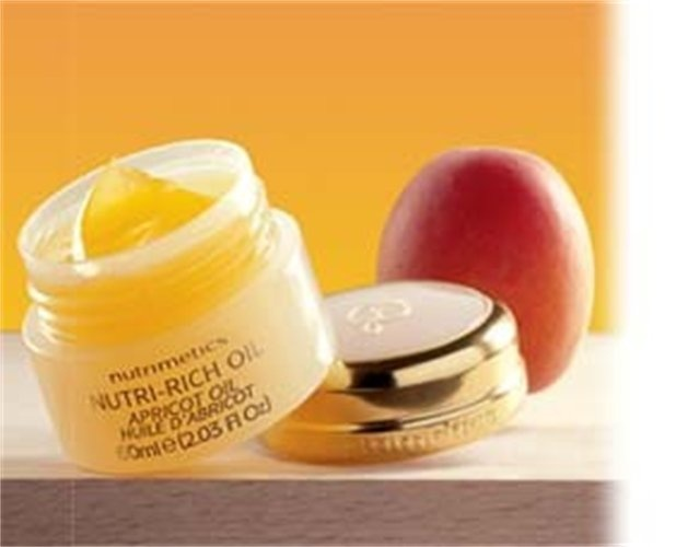 Nutrimetics Nutri Rich Oil. Beautiful, rich night cream. Has so many other uses, I'm never without one.