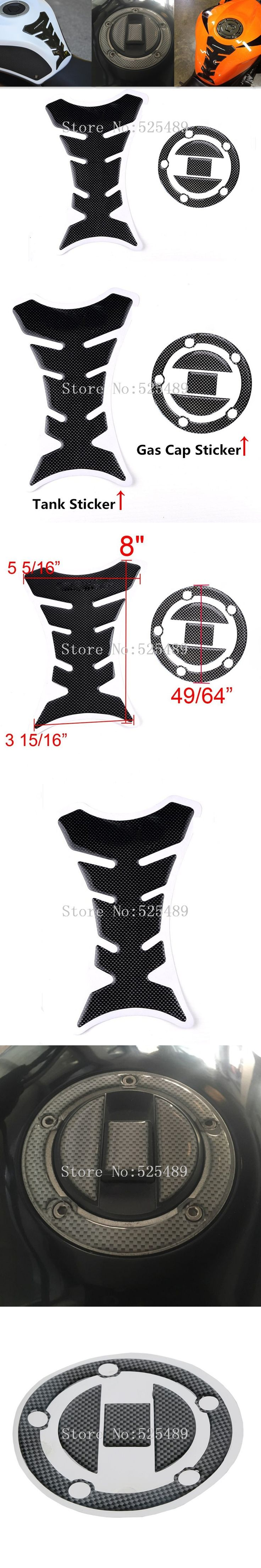 Motorcycle Decoration Sticker Fuel Tank Pad Decals Gas Cap Pad Cover Stickers For Suzuki GSXR 600 750 1000 GSX1300R SV650/1000
