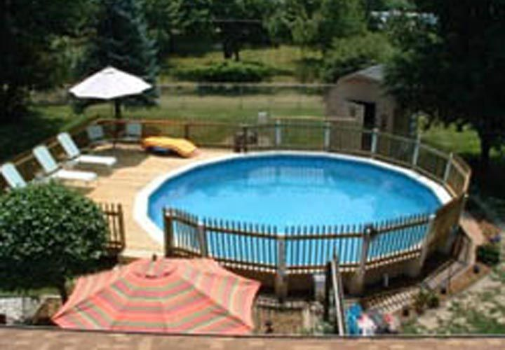 round above ground pool deck ideas | Articles Related to Affordable Above Ground Spa Deck Design Ideas