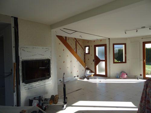 Les 7 meilleures images propos de ma maison l 39 entree for Salon maison et travaux