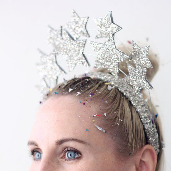 New Year's Even star crown perfect for ringing in the new year!
