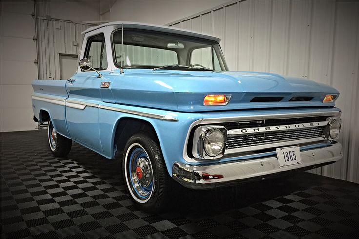 1965 Chevrolet C 10 Custom Pickup 196457 Cars And