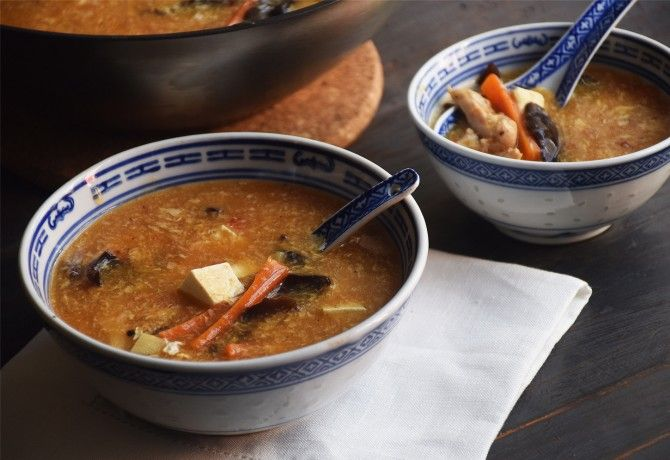 Kínai csípős-savanyú leves - MINDENMENTES
