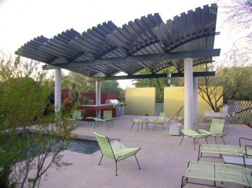 41 best images about shade structures on pinterest roof for Home shade structures