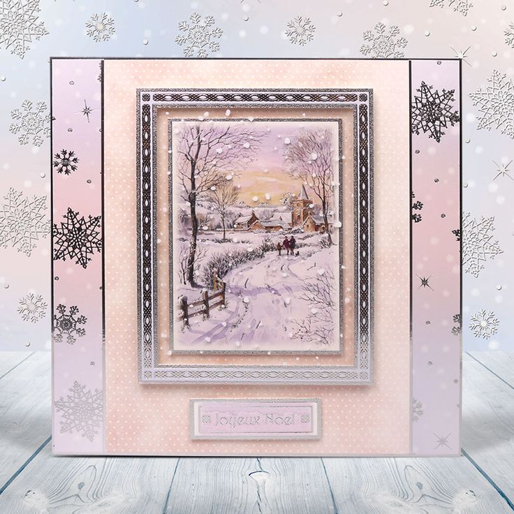This stunning festive scene is from the Winter Wonderland Christmas collection!