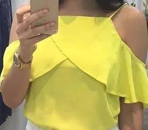 Resultado de imagem para blusa campesina