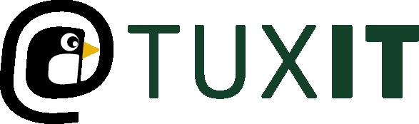 Logotype för Tuxit AB
