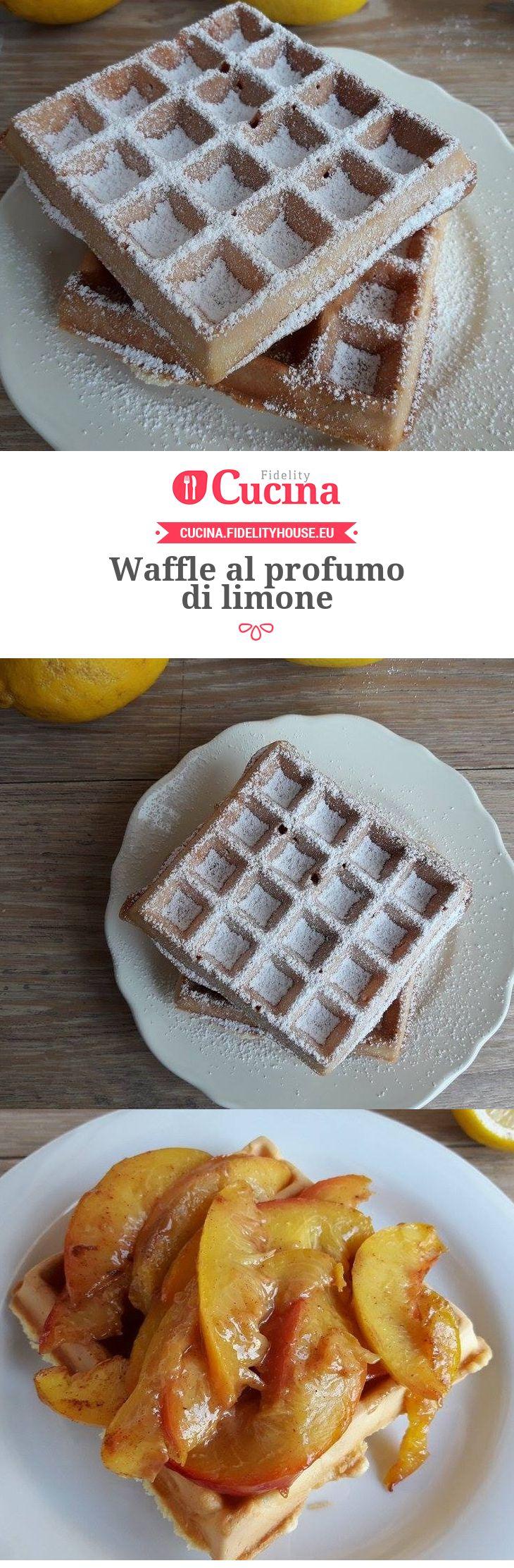 #Waffle al profumo di #limone della nostra utente Vittoria. Unisciti alla nostra Community ed invia le tue ricette!
