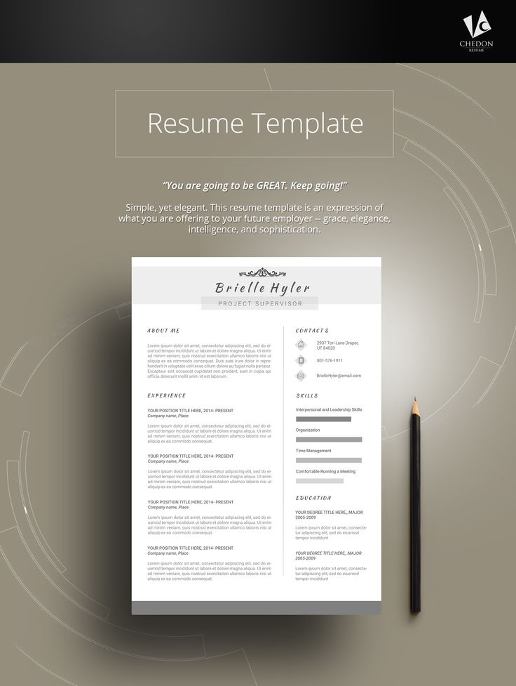 25 best @ JOBS Resume Templates images on Pinterest Resume - sophisticated resume templates