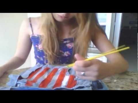 Como customizar seu short com a bandeira do Estados Unidos
