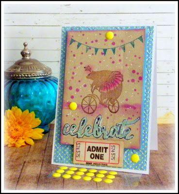 Lovely Linda's Craft Central!! Flourishes, lc @flourisheslccom @spellbinders @imaginecrafts @want2scrapco @SBAdhesivesby3L #teamspellbinders #platinum6 #diy #handmade #craft #paperart #embossing ##fllc #lovelylinda #lindalucas #linda #sothisiseaster @chameleonpens #underthebigtop #circus #whimsical