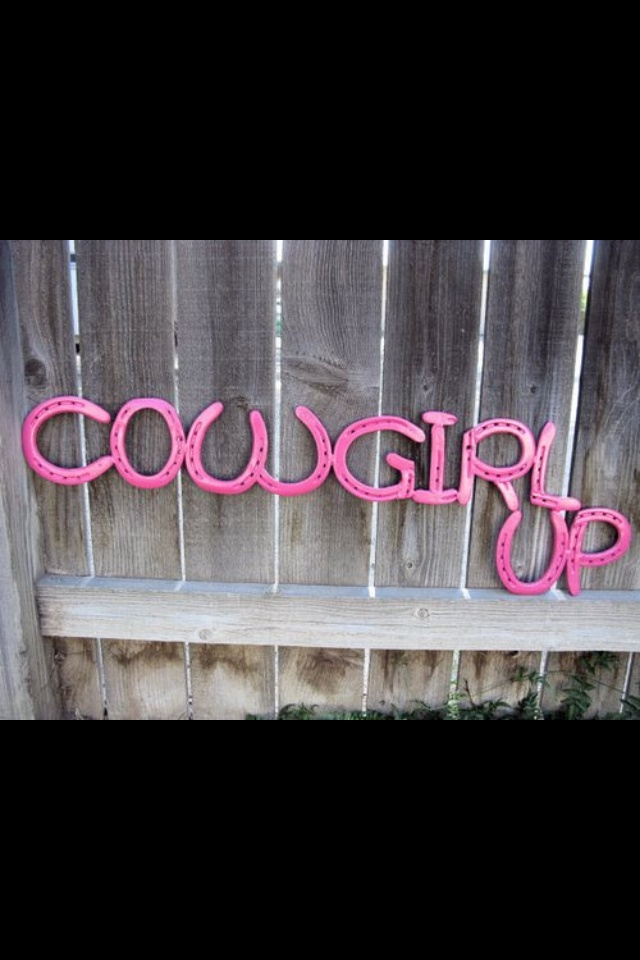 Cowgirl up!!!
