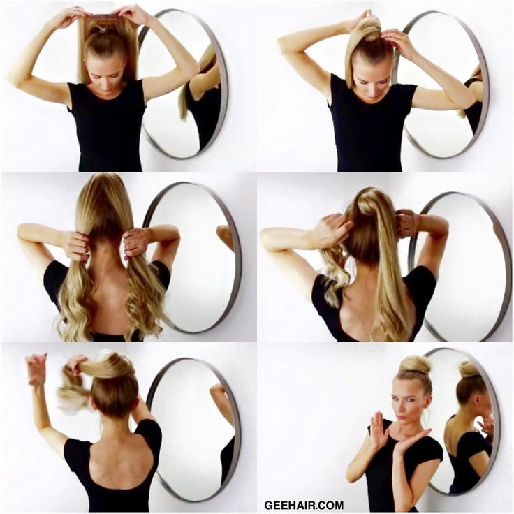 how to wear hair clips in your hair