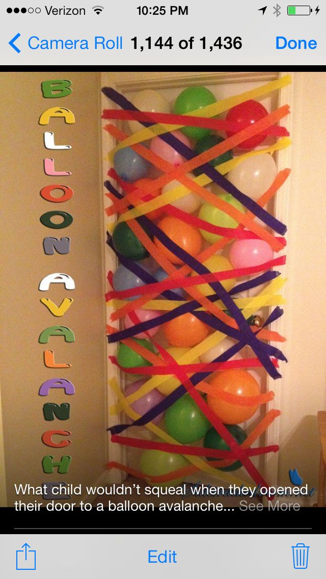 cute idea- I'm going to use leftover balloons from my daughters party