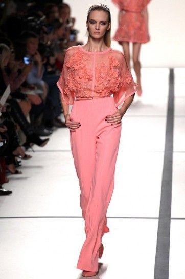 Look rosa di Elie Saab