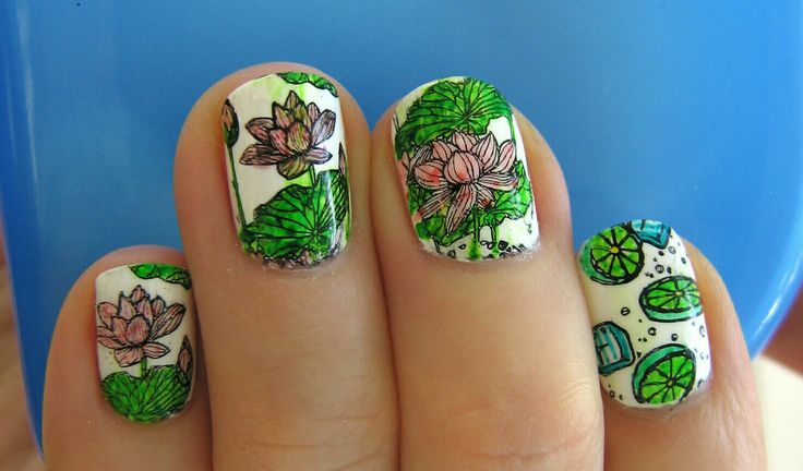 Mani with new Creative Shop plates  #creativeshop #creativeshopplates #creativeshopstamper