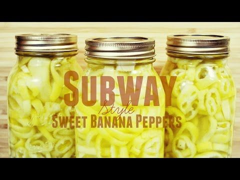 Crispy Banana Peppers Canning Rings - Bing Videos
