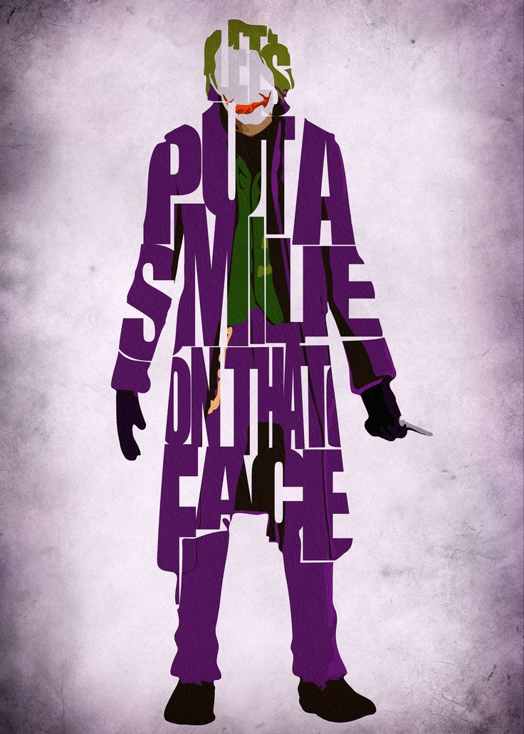 "Let's put a smile on that face!"" The Joker and his famous quote on ..."