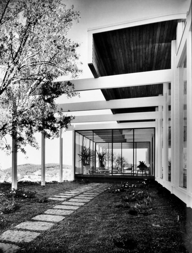 Richard Dorman - Briggs Residence - Royal Oaks California - 1959 - Shulman