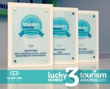 Globe One Digital, winner of 3 awards at the greek tourism awards 2015! #GOD #GlobeOneDigital #DigitalAgency #DigiatlMarketingAgency #PerformanceAgency #AthensDigitalAgency #PerformanceMarketing #GreeceDigitalAgency #SocialMedia #SocialMediaManagement   #SEO #CRO #PPC #GoogleAdwords