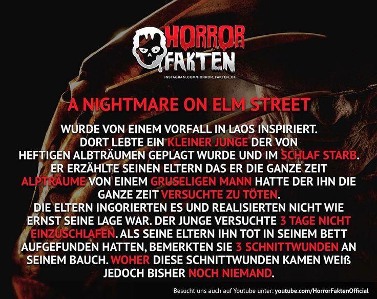 1, 2 Freddy kommt vorbei.  #horrorfakten