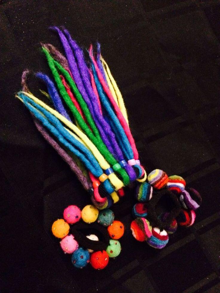 Hair Ties Hand Made In Nepal