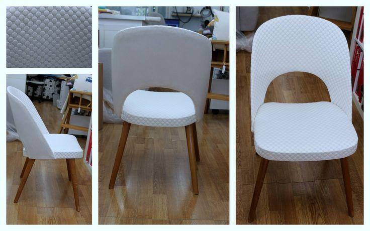 Salo Designissa lisää upeita yksilöllisiä vintage tuoleja. Muutamat ihastuttavat 50- ja 60-luvun nojatuolit nähtävissä Salo Designissa. Tuolien uudet upeat verhoilut on toteuttanut Heta verhoomo Hedvigistä.