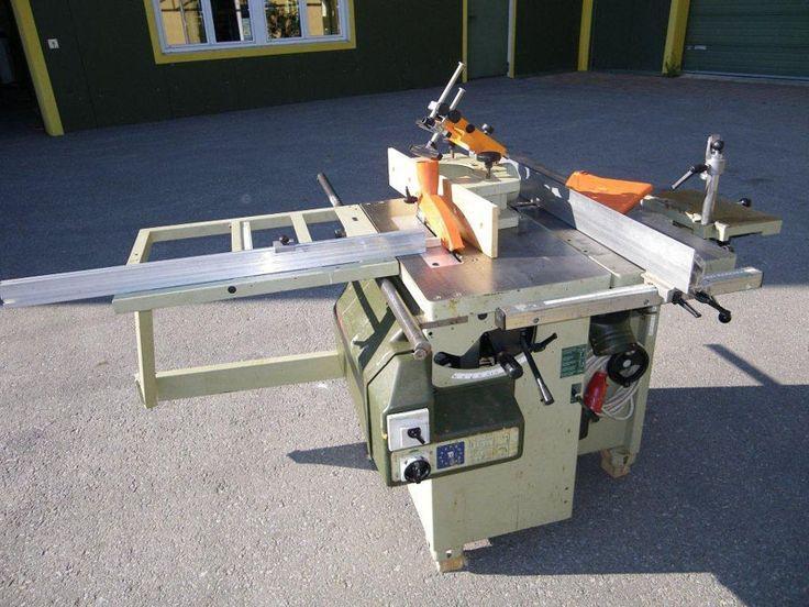 Holzbearbeitungsmaschinen Kombimaschinen Gebraucht #Gebraucht #holzbearbeitungsm…