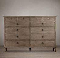 Maison 12-Drawer Dresser | Dressers | Restoration Hardware