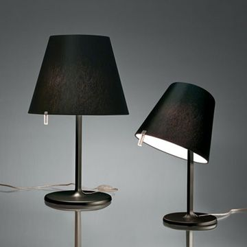 Luxury Life【Artemide Melampo Notte Mini Table in Black 小擺頭 桌燈 黑色款,Adrien Gardere (fr) 設計】