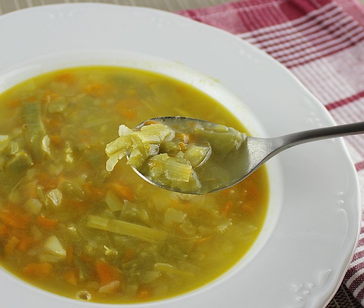Sopa minestrone #thermomix