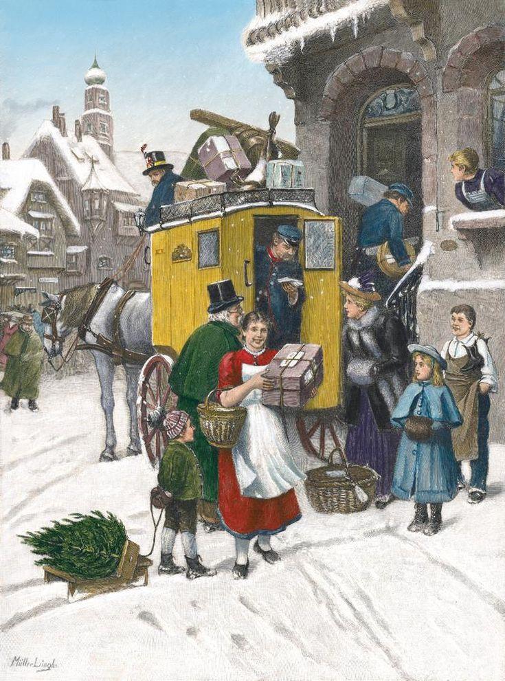 54 besten advent calendars german bilder auf pinterest - Bilder weihnachtspost ...